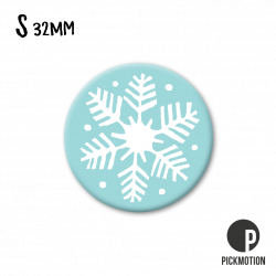 Pickmotion S-Magnet Schneeflocke