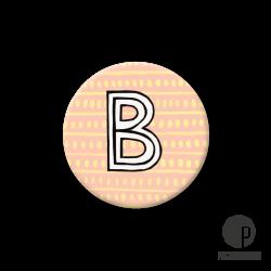 Pickmotion S-Magnet Buchstabe B