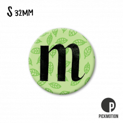 Pickmotion S-Magnet Buchstabe M