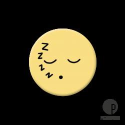 Pickmotion S-Magnet Schlaf Smiley
