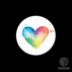 Pickmotion S-Magnet Regenbogen Herz