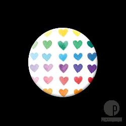 Pickmotion S-Magnet kleine Regenbogen Herzen